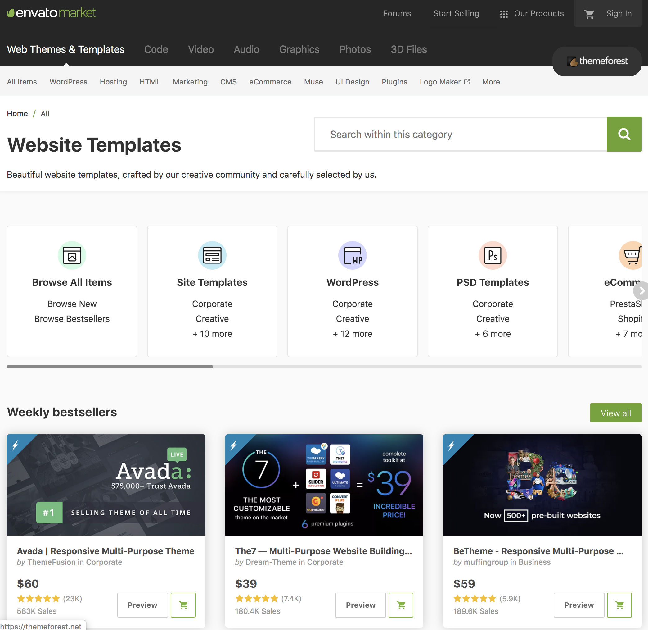 Themeforest Review – Are the Templates Worth Your Money? 2020